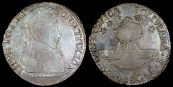 World Coins - 1830 PTS-JL Bolivia 4 Soles AU