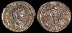 Ancient Coins - Numerian Antoninianus - MARS VICTOR - Lugdunum Mint