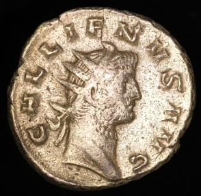 Ancient Coins - Gallienus Antoninianus - DIANA FELIX - Milan Mint