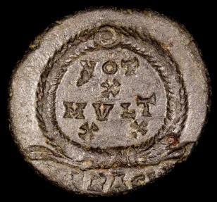 Ancient Coins - Julian II Ae3 - VOT X MVLT XX - Heraclea Mint
