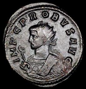 Ancient Coins - Probus Antoninianus - PAX AVG - Siscia Mint