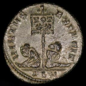 Ancient Coins - Constantine I  Ae3 - VIRTVS AVG - Londinium Mint