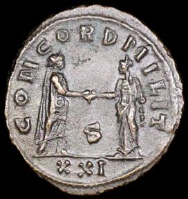 Ancient Coins - Probus Antoninianus - CONCORDIA MILIT - Cyzicus Mint