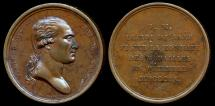 World Coins - 1809  France - Frederick Auguste, King of Saxony, ally of Napoleon - His December Visit to the French Mint by Jean-Bertrand Andrieu and Dominique-Vivant Denon