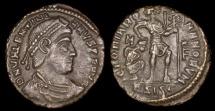 Ancient Coins - Valentinian I Centenionalis - GLORIA ROMANORVM - Siscia Mint