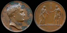 World Coins - 1805 France - Interview at Urshutz by Jean-Bertrand Andrieu and Dominique Vivant, Baron de Denon