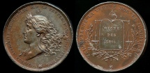 World Coins - 1830  France - July Revolution - National Freedom Reconquered by the People by Joseph Arnold Pingret