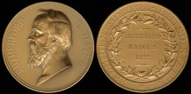 Us Coins - 1877 Rutherford B. Hayes - US Mint Medal