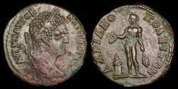 Ancient Coins - Caracalla Ae27 - Apollo at Altar - Hadrianopolis