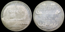 World Coins - 1925  Germany - Rhineland (1925) Germania Monument in Rudesheim