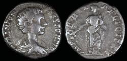 Ancient Coins - Caracalla Denarius - IMPERII FELICITAS - Rome Mint