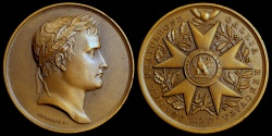World Coins - 1804 France - Napoleon - The Inaguration of the Legion of Honor by Jean-Bertrand Andrieu, Dominique-Vivant Denon and Louis Jaley