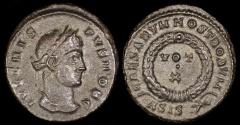 Ancient Coins - Crispus Follis - CAESARVM NOSTRORVM - Siscia Mint