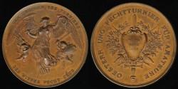 World Coins - 1896 Austria – Vienna Fecht Club Amateur Fencing Championship