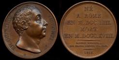 World Coins - 1818  France - Ennius Quirinus Visconti, Italian antiquarian and art historian, papal Prefect of Antiquities by Donadio