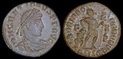 Ancient Coins - Gratian Ae3 - GLORIA ROMANORVM - Siscia Mint