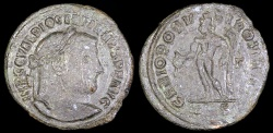 Ancient Coins - Diocletian Follis - GENIO POPVLI ROMANI - Treveri Mint