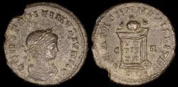 Ancient Coins - Constantine II Follis - BEATA TRANQVILLITAS - Lyons Mint