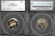 Us Coins - 1962 Washington Quarter SEGS PR67CAM