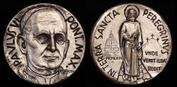 World Coins - 1964 Vatican - Pope Paul VI - 1964 Pilgrimage to Holy Land by Erminio Varisco