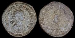 Ancient Coins - Carus Antoninianus - VIRTVS AVGG - Rome Mint
