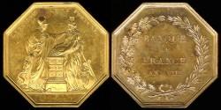 World Coins - 1799 France - Jeton - Banque de France