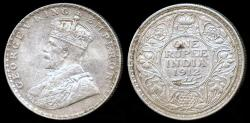 World Coins - 1912 (b) India (British) 1 Rupee XF