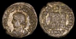 Ancient Coins - Constantius II Ae3 - PROVIDENTIAE CAESS - Heraclea Mint