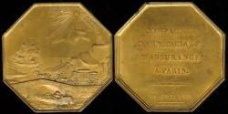 World Coins - 1818 France - Jeton - Paris Commercial Insurance Company