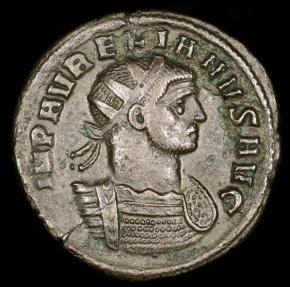 Ancient Coins - Aurelian Antoninianus - RESTITVT ORBIS - Cyzicus Mint