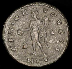 Ancient Coins - Galerius Ae Follis - GENIO AVGVSTI - Cyzicus Mint