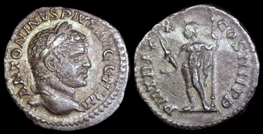 Ancient Coins - Caracalla Antoninianus - P M TR P XX COS IIII P P - Rome Mint