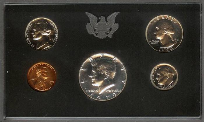 US Coins - 1970 US Proof Set