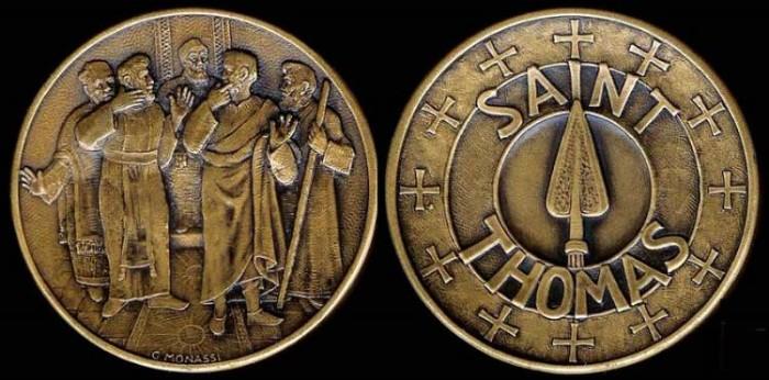 World Coins - 1972 US: Saint Thomas the Apostle