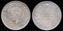 World Coins - 1940 (b) India (British) 1 Rupee AU