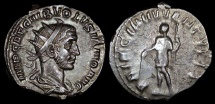 Ancient Coins - Volusian Antoninianus - PRINCIPI IVVENTVTIS - Rome Mint
