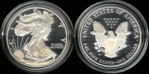 Us Coins - 2001 W Proof Silver Eagle