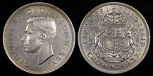 World Coins - 1937 Great Britain 1 Crown - George VI - BU