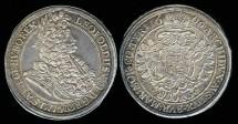 World Coins - 1696 Hungary Thaler UNC