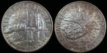 World Coins - 1952 Cuba 40 Centavo - 50th Year of the Republic - AU