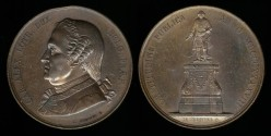 World Coins - 1848 Belgium - Charles Alexandre duc de Lorraine, Govenor of Belgium