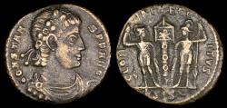 Ancient Coins - Constans Ae3 - GLORIA EXERCITVS - Siscia Mint