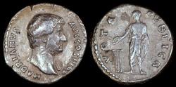 Ancient Coins - Hadrian Denarius - VOTA PVBLICA - Rome Mint