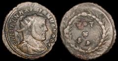 Ancient Coins - Galerius Ae3 - VOT X FK - Carthage Mint