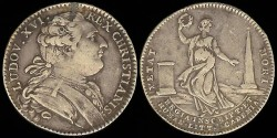 World Coins - 1775 France - Jeton - Royal Academy of Inscriptions and Belles Lettres