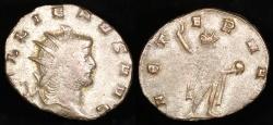 Ancient Coins - Gallienus Antoninianus - AETERN - Milan Mint