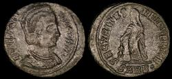 Ancient Coins - Helena Ae3 - SECVRITAS REIPVBLICE - Heraclea Mint