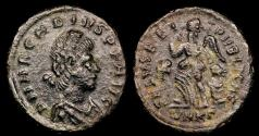 Ancient Coins - Arcadius Ae4 - SALVS REIPVBLICAE - Cyzicus Mint