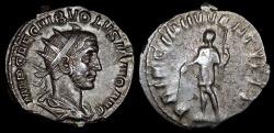 Ancient Coins - Volusian Antoninianus - PRINCIPI IVVENTVTIS - Rome Mint