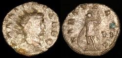 Ancient Coins - Gallienus Antoninianus - VIRTVS AVG - Rome Mint